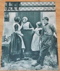 Urk kinderen in klederdracht