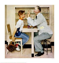 Image detail for -Product Detail of Norman Rockwell fine Art Gilcee Print: