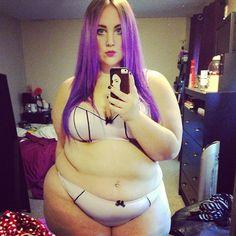 khaleesidelrey:  Sexy gaze in a purple haze ~ lingerie from @Mark Van Der Voort Van Der Voort Rislov Elle  #effyourbeautystandards #honormycurves #plussize #plussizefashi...