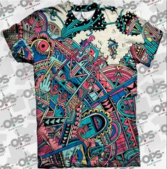 Camiseta Ethnic Space