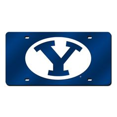 Brigham Young Cougars NCAA Laser Cut License Plate Cover