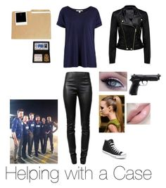 Helping with a Case (Criminal Minds) by bethany-roysdon on Polyvore featuring Forever New, Alexander Wang, Converse and Korres