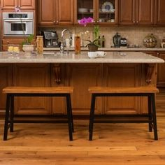 Shop for Pomeroy Saddle Wood Counter Dining Bench (Set of 2) by Christopher Knight Home. Get free shipping at Overstock.com - Your Online Furniture Outlet Store! Get 5% in rewards with Club O!