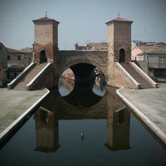 Comacchio, Italy.  http://www.worldheritagesite.org/sites/ferrara.html