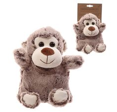 Click and shop now for Cute Monkey Design Snuggables Microwavable Warmer by weeabootique