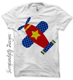 Airplane Iron on Transfer  Kids Iron on by ScrapendipityDesigns, $2.50