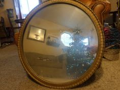 1920's Round Mirror by NorCalPicker on Etsy