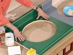 Painting countertops is an economical alternative to replacing laminate countertops. Learn how it's done at DIYNetwork.com.