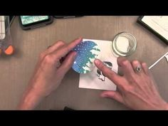 A Video on making your own glitter embossing powder and making a fabulous Christmas Card with Jennifer McGuire for Simon Says Stamp Stamptember.  2013