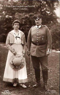 Prinz Eitel Fritz und Ehefrau Sophie Charlotte von Preussen, Prince and Princess of Prussia | Flickr - Photo Sharing!