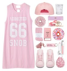"""""""Untitled #306"""" by aliciaruiz2712 ❤ liked on Polyvore featuring Chicnova Fashion, adidas, Johnstons, Pier 1 Imports, Zara Home, Schott Zwiesel, Iscream and Various Projects"""