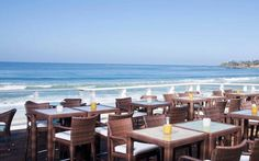 """The Deck... The only open-air beachside restaurant in Laguna Beach. Great Happy Hour, """"amazing food & drinks"""" with a beautiful view!"""