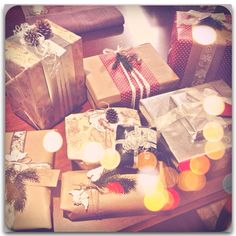 Christmas wrapping #christmas #gifts