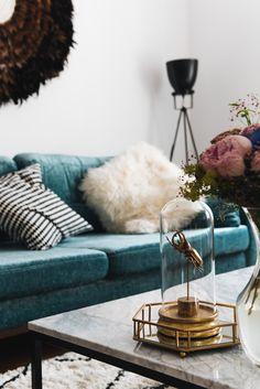 Genial More On Www.fashiioncarpet.com Wohnzimmer Einrichtung, Samt Sofa, Couch Aus  Samt