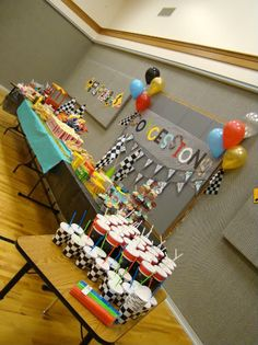 tHe fiCkLe piCkLe: On Your Mark. Get Set. PaRtY! Pinewood Derby Party