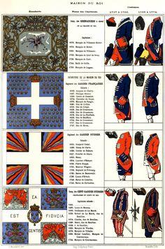 Praetiriti Fides, Exemplumque Futuri : Mouillard - Gendarmerie & Maison du Roi