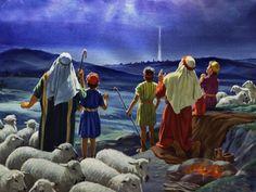 Shepherds Watching their Flock