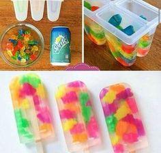Teddy-beer ice pops