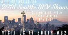 Look who is heading back up to Washington! Come by and see us at Booth at the The Seattle Show this month! Check out what we have planned for the new year and grab some giveaways. Centurylink Field, Rv Show, Meteor Shower, Seattle Washington, Seattle Skyline, Giveaways, Trek, Utah, Vacations