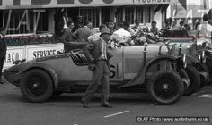 After finish of 1930 Le Mans 24 hour race