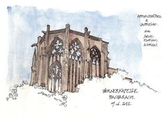 Bacharach | Flickr: Intercambio de fotos Urban Sketchers, Photos, Drawing Drawing, Urban Sketching