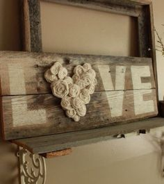Planning on making this myself then wrapping it up and giving it to my mom... Or just putting it above my bed..  • Easy to do.. Just get An ok piece of wood. White paint and flowers of your choice.. Paint the letters on. Then hot glue the flowers in the pattern that you want it in.. • What will you do with this?
