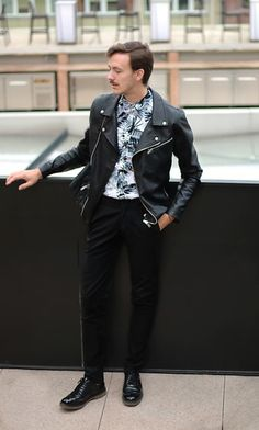 Get this look: http://lb.nu/look/8626479  More looks by Bartek Piekara: http://lb.nu/barthpiekara  Items in this look:  Topman Shirt, Pull & Bear Jacket, Zara Pants, Pull & Bear Shoes   #edgy #minimal #vintage