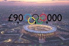 The London Olympics will cost how much??