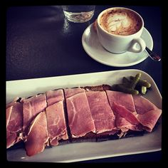@anissahelou And a ham #tartine after the salad. Simple and delicious ! #poilane #chelsea #london #brunch