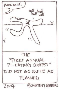 First annual pi-eating contest Math Quotes, Math Memes, Math Humor, Teacher Memes, Math Teacher, Math Classroom, Teaching Math, Biology Humor, Grammar Humor