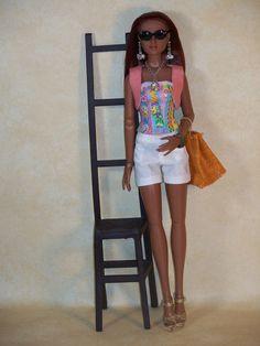 Un Air de Vacances Ooak clothes for Antoinette par latelierderosy