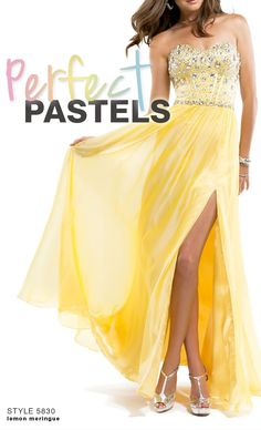 Pastel Prom Dresses: Spring Trend Alert #love #pastel #prom
