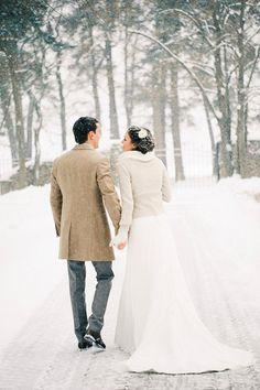 Winter wedding inspiration//