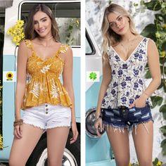 ¿Y tú a cuál blusa le apostarías? 🤷♀ ¿A o B? 🧡