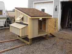 Square Model Chicken Coops