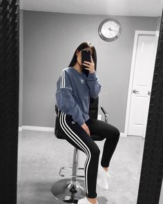 All adidas outfit Sporty Outfits, Mode Outfits, Fall Outfits, Summer Outfits, Fitness Outfits, Workout Outfits, Adidas Outfits For Women, Girls Adidas, Sporty Style