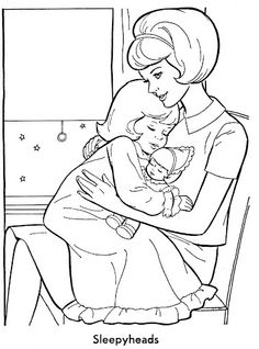 26 Trendy drawing people for kids coloring books People Coloring Pages, Baby Coloring Pages, Coloring Pages For Kids, Kids Coloring, Camping Coloring Pages, Vintage Coloring Books, Barbie Coloring, Human Drawing, Drawing People