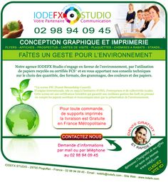 L'agence IODEFX conçoit et imprime tous vos supports de communication à moindre coût. Livraison gratuite en France métropolitaine.