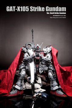 Custom Build: PG 1/60 GAT-X105 Strike Gundam - Gundam Kits Collection News and Reviews