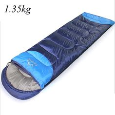 42.84$  Watch now - http://ali4wp.worldwells.pw/go.php?t=32721252565 - 1.35kg 1.65kg Envelope Sleeping Bag winter hiking Cotton Outdoor Camping Adult Sleep Bag Saco de dormir Travel Sleeping Bags 42.84$