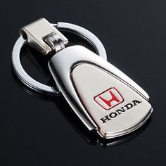 Senior-Metal-Car-Honda-LOGO-Chrome-Keychain-Key-Ring-Decoration-Collections Honda Logo, Key Rings, Keychains, Chrome, Collections, Decoration, Logos, Metal, Car