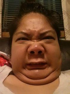 Goofy Asian Face