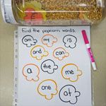 Pop Corn Word Hunt: Practicing High Frequency Words (Virtual Tour)