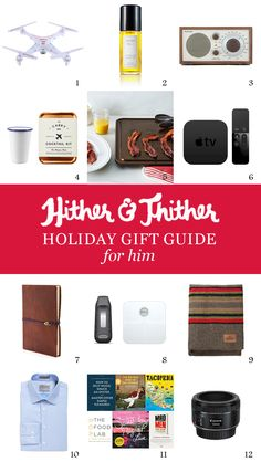 Hither & Thither Gift Guide: For Him - Hither and Thither