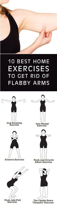 Flabby arms can feel embarrassing and uncomfortable, especially in summer when it's nice to wear t-shirts and dresses. But don't worry, there are simple exercises you can do at home to tone those arms and reduce flabby arms for good!We're talking here about toning up your triceps, those large muscles at the back of your …