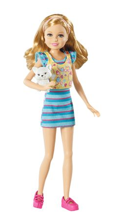 Amazon.com: Barbie Sisters Stacie Doll and Pet: Toys & Games $24.99