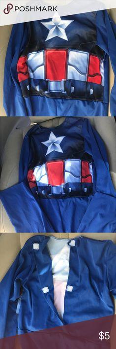 Captain America Costume Captain America Costume Size medium (6-7) Costumes Halloween