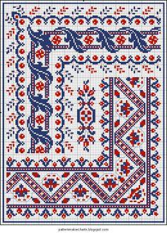 Předlohy na vyšívání (Czech) - Embroidery charts