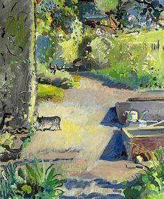 CUNO AMIET Dans le Jardin (In the Garden, 1934)