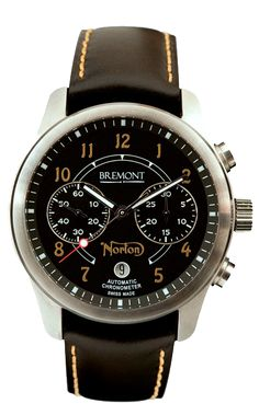 Norton, one of the worlds most iconic motorcycle brands, has been working with Bremont to produce a limited edition chronograph.